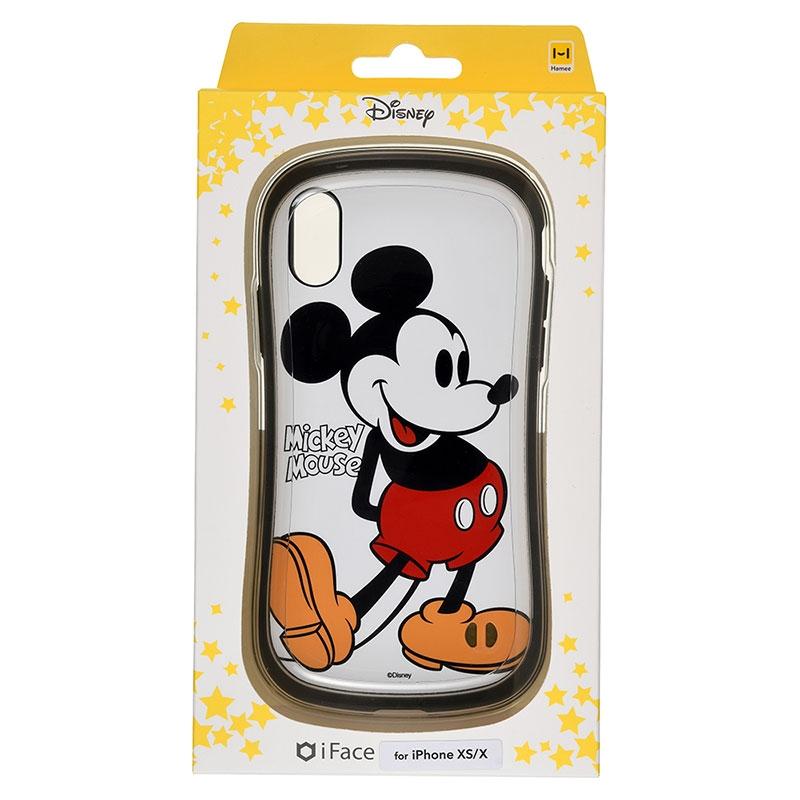 【iFace】ミッキー iPhone X/XS用スマホケース・カバー ミッキー&フレンズ iFace First Classケース