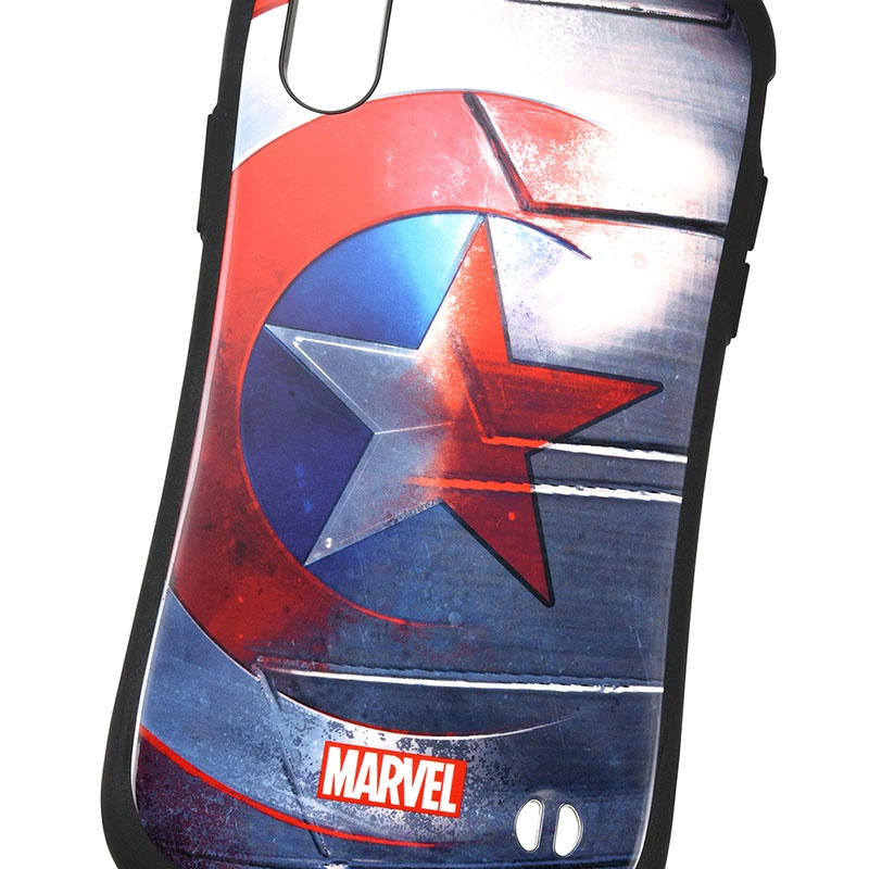 【送料無料】【iFace】マーベル キャプテン・アメリカ iPhone X/XS用スマホケース・カバー シールド iFace First Classケース