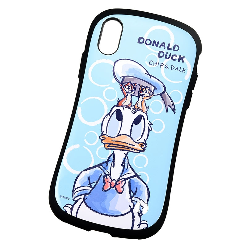 【iFace】ドナルド、チップ&デール iPhone X/XS用スマホケース・カバー 水彩 iFace First Classケース