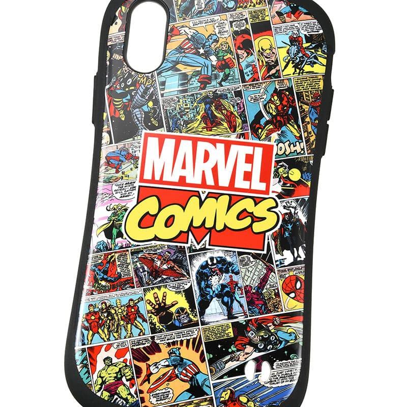 【iFace】マーベル iPhone XR用スマホケース・カバー ヒーロー コミック iFace First Classケース