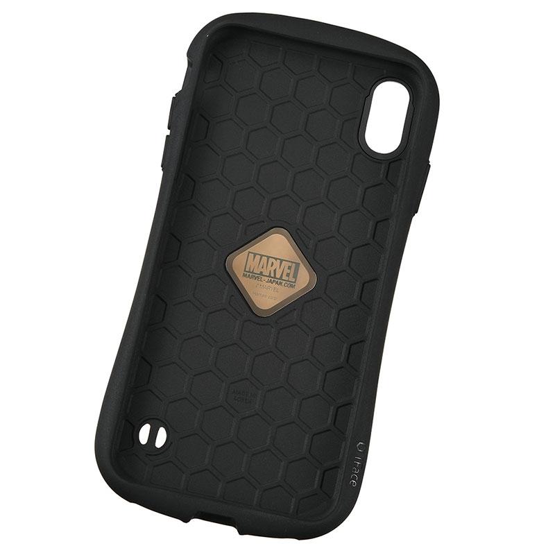 【iFace】マーベル iPhone XS Max用スマホケース・カバー レッド ロゴ iFace First Classケース