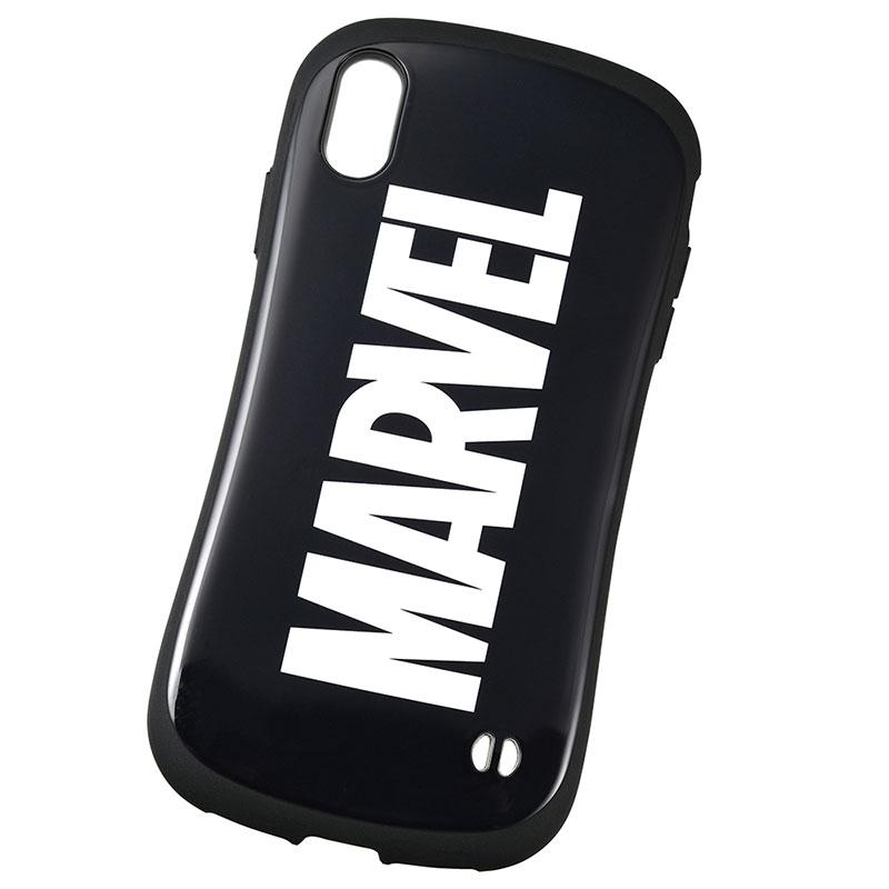 【iFace】マーベル iPhone XS Max用スマホケース・カバー ブラック ロゴ iFace First Classケース