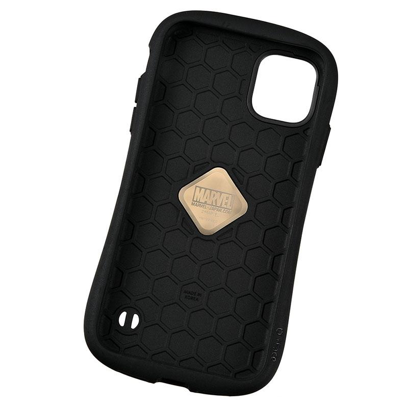 【iFace】マーベル iPhone 11用スマホケース・カバー レッド ロゴ iFace First Classケース