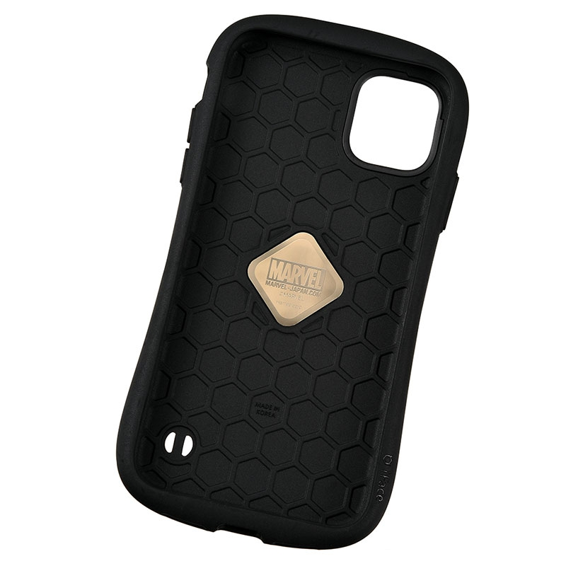【iFace】マーベル iPhone 11用スマホケース・カバー コミック表紙 ロゴ iFace First Classケース