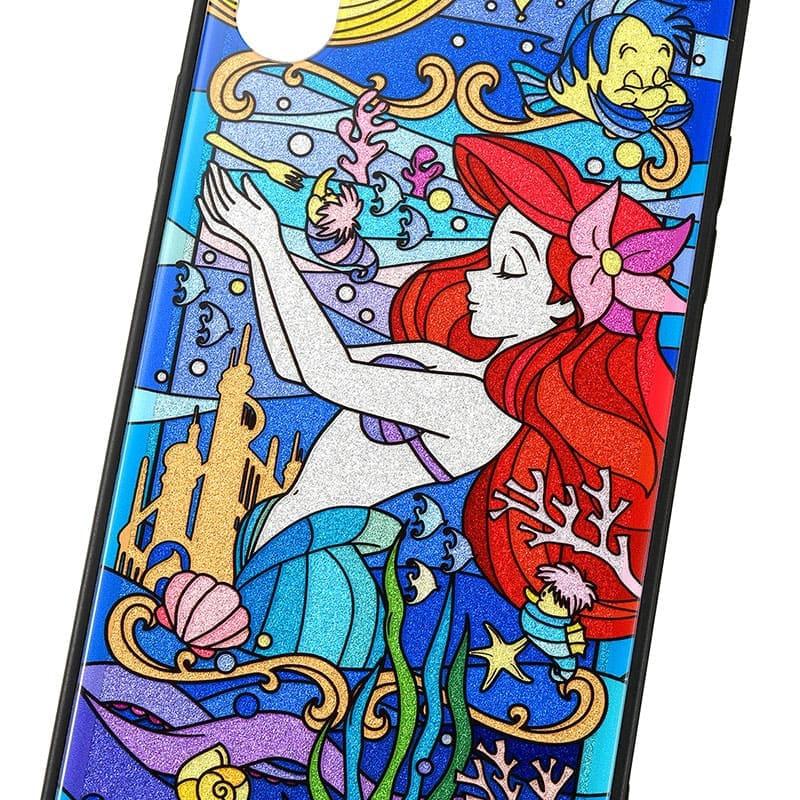 アリエル&フランダー iPhone X/XS用スマホケース・カバー グリッター TILEケース