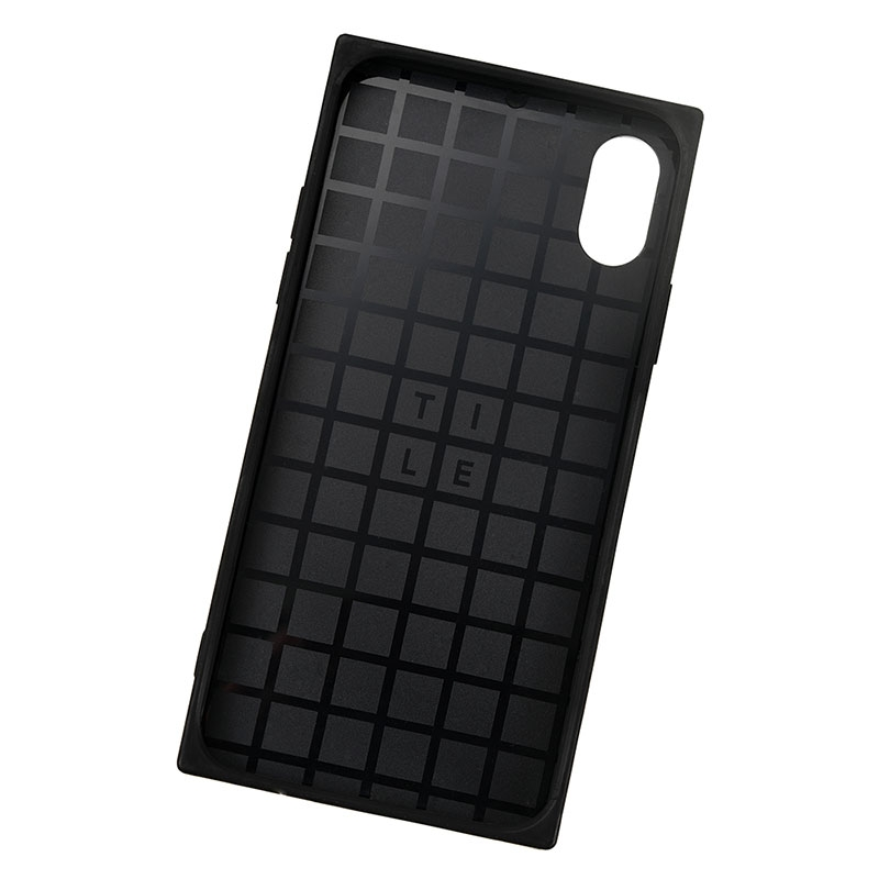 ラプンツェル&パスカル iPhone X/XS用スマホケース・カバー グリッター TILEケース
