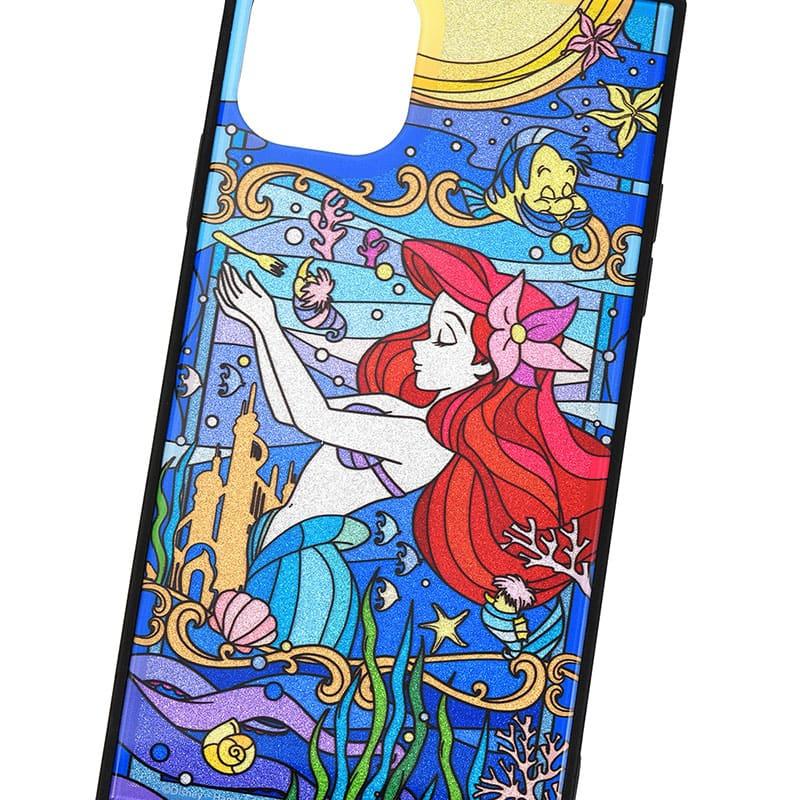 アリエル&フランダー iPhone XI用スマホケース・カバー グリッター TILEケース