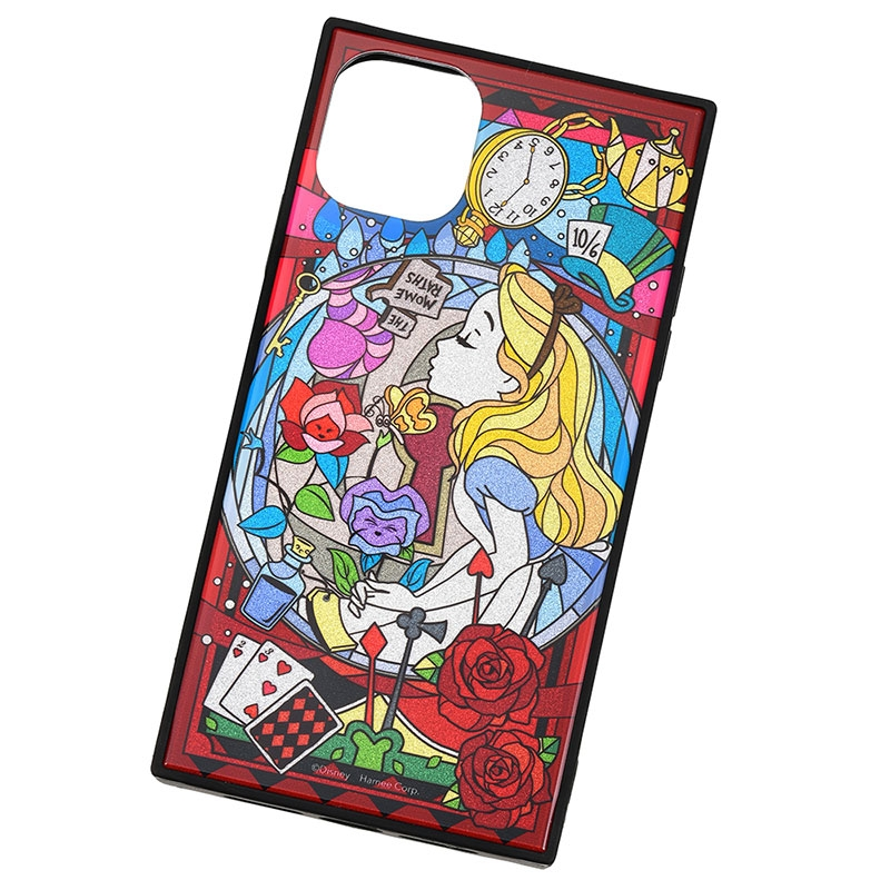アリス iPhone XI用スマホケース・カバー グリッター TILEケース