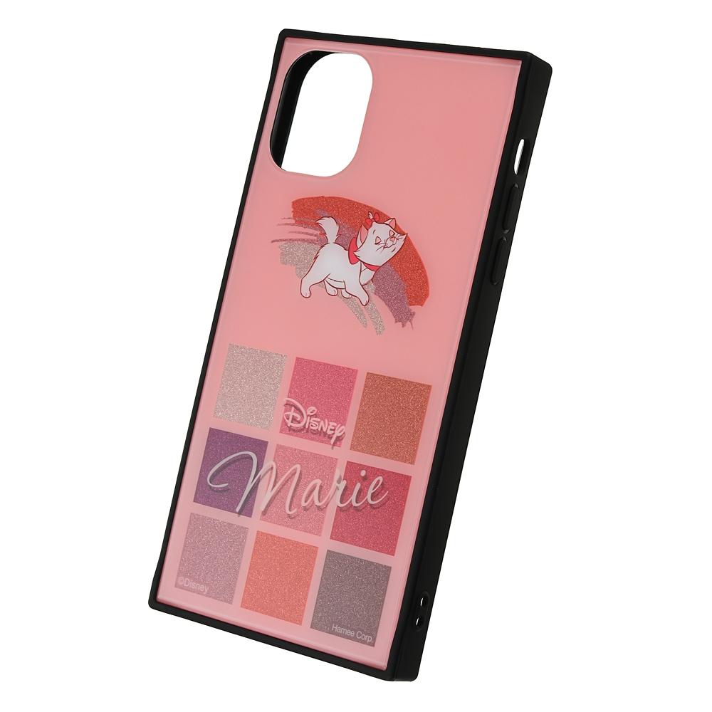 【送料無料】マリー おしゃれキャット iPhone 11用スマホケース・カバー グリッター コスメデザイン TILEケース