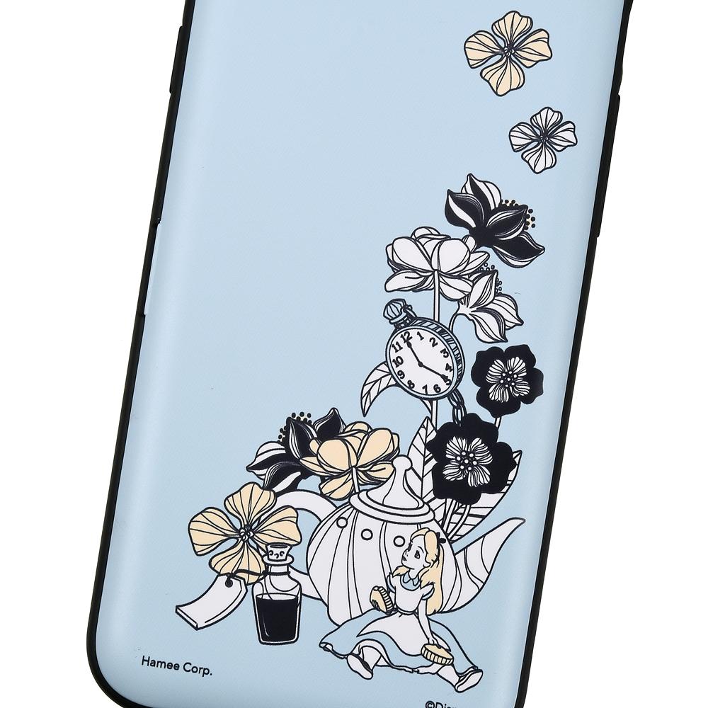 【Latootoo】アリス iPhone 7/8用スマホケース・カバー カード収納型 ミラー付き
