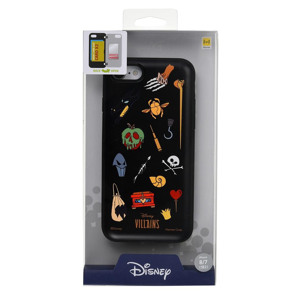 【送料無料】【Latootoo】ディズニーヴィランズ iPhone 7/8/SE(第2世代)用スマホケース・カバー アイコン