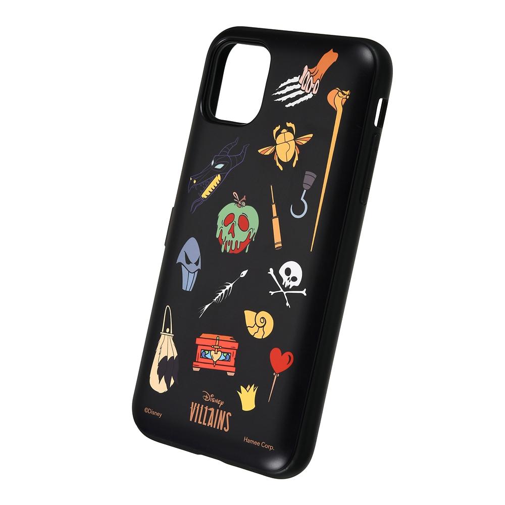 【Latootoo】ディズニーヴィランズ iPhone 11/XR用スマホケース・カバー アイコン