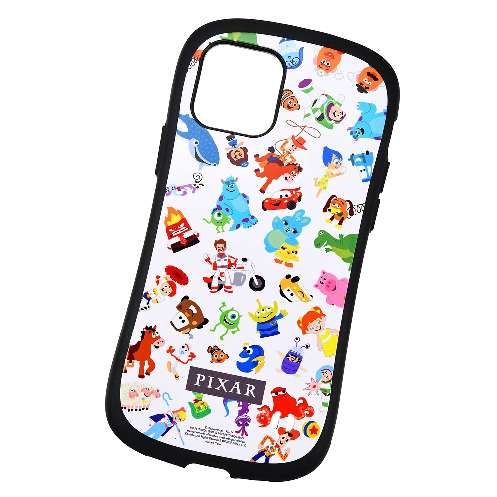 【送料無料】【iFace】ピクサーキャラクター iPhone 12/12 Pro用スマホケース・カバー ホワイト 総柄 iFace First Classケース