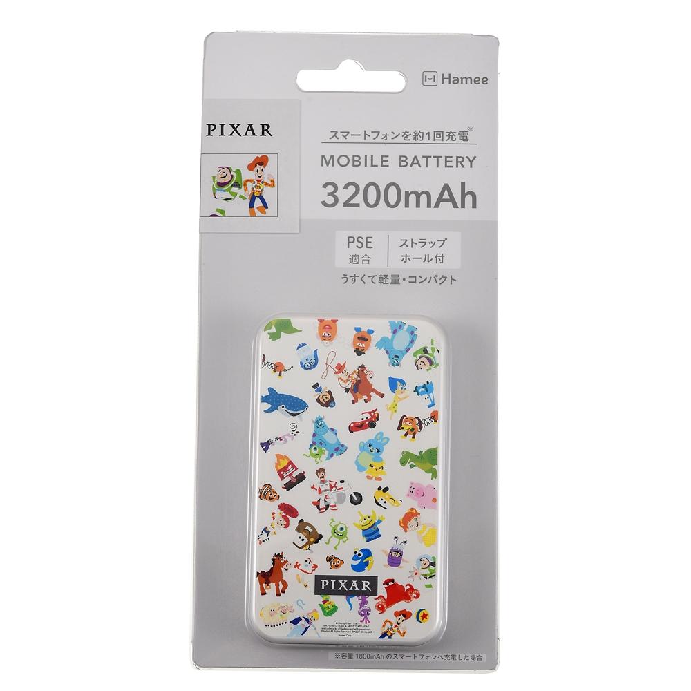 ピクサーキャラクター モバイルバッテリーチャージャー 名刺型