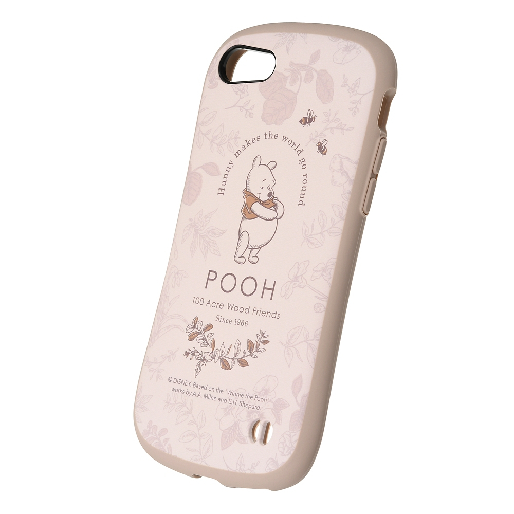 【iFace】プーさん iPhone 7/8/SE(第2世代)用スマホケース・カバー ボタニカル カフェ iFace First Classケース