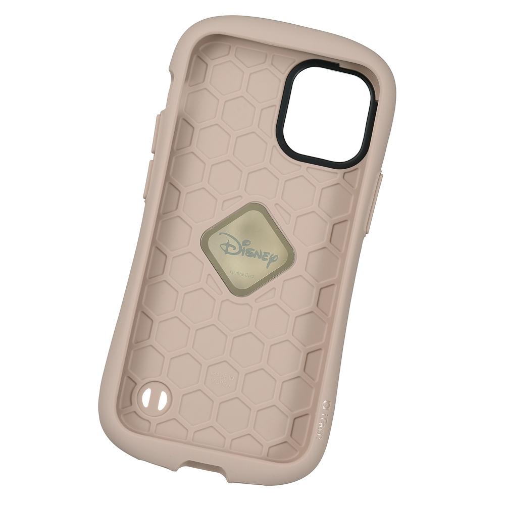 【送料無料】【iFace】プーさん iPhone 12 mini用スマホケース・カバー ボタニカル カフェ iFace First Classケース