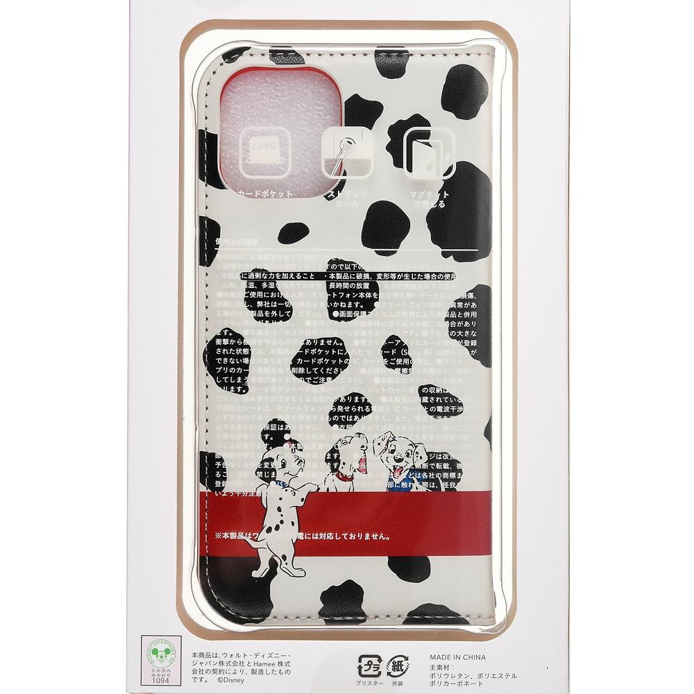 101匹わんちゃん iPhone 12/12 Pro用スマホケース・カバー フリップ窓付きダイアリーケース