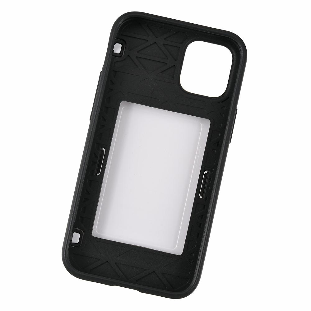 【Latootoo】ベイマックス iPhone 12 mini用スマホケース・カバー カード収納型 ミラー付き