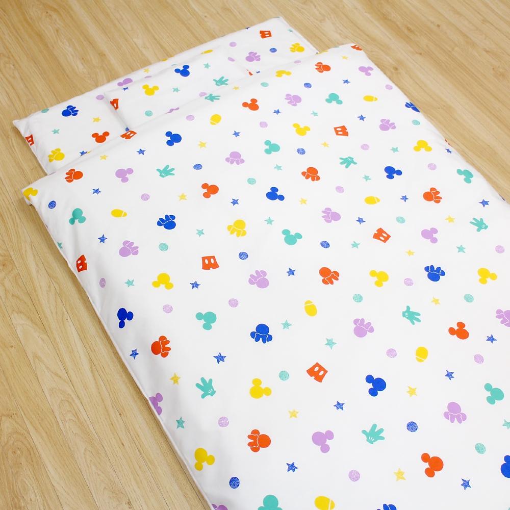 お昼寝布団 7点セット ミッキー ミニー 綿100% 日本製