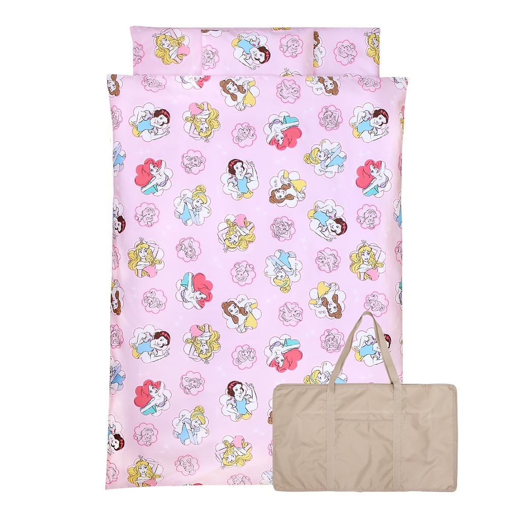 お昼寝布団 7点セット ディズニープリンセス 綿100% ピンク