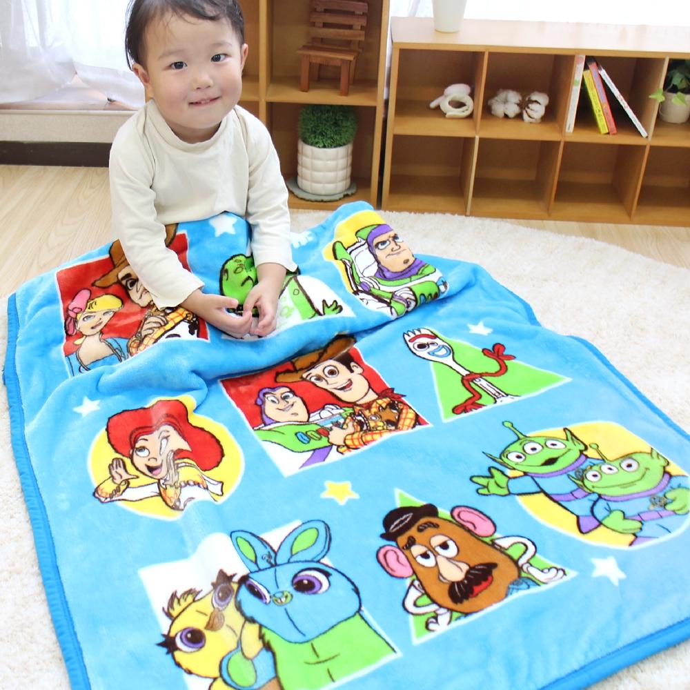 毛布 トイ・ストーリー 85×115cm ニューマイヤー素材