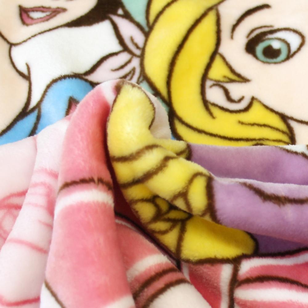 毛布 ディズニープリンセス 85×115cm ニューマイヤー素材