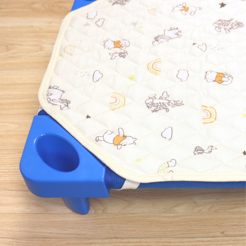 冷感 お昼寝 コットカバー プー&フレンズ 60×130cm