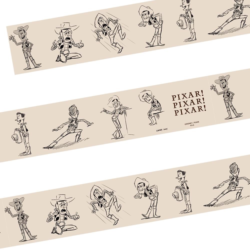 PIXAR! PIXAR! PIXAR!/アート/養生テープ/トイ・ストーリー4/ウッディ