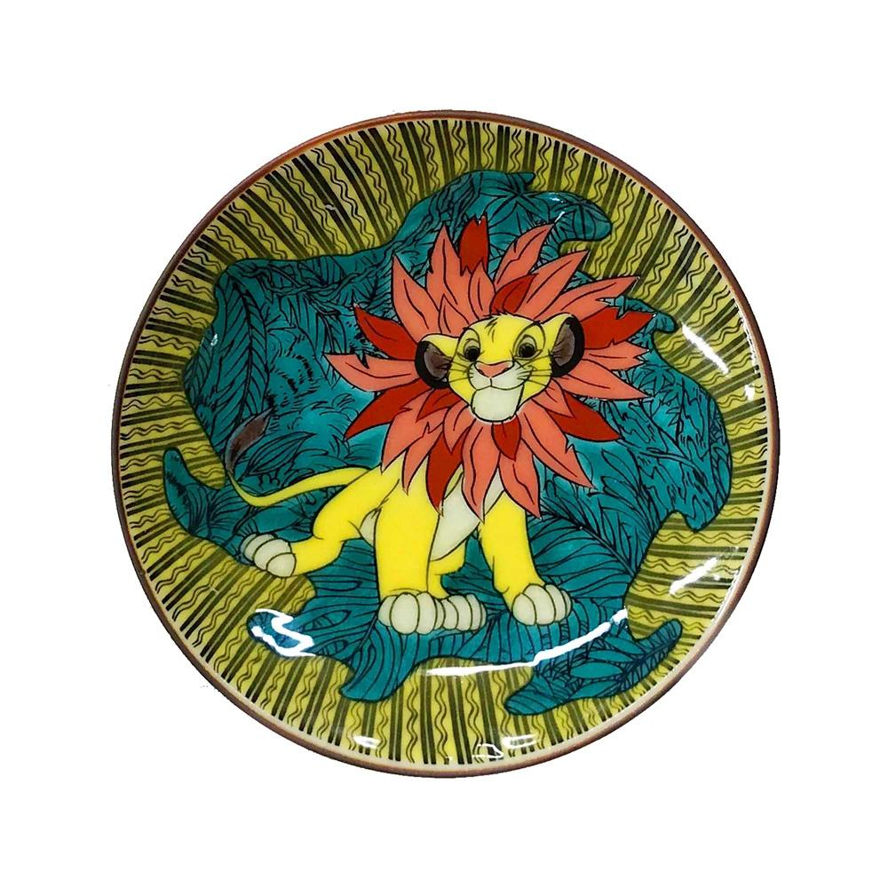 CLASSICS/ライオン・キング/九谷焼豆皿