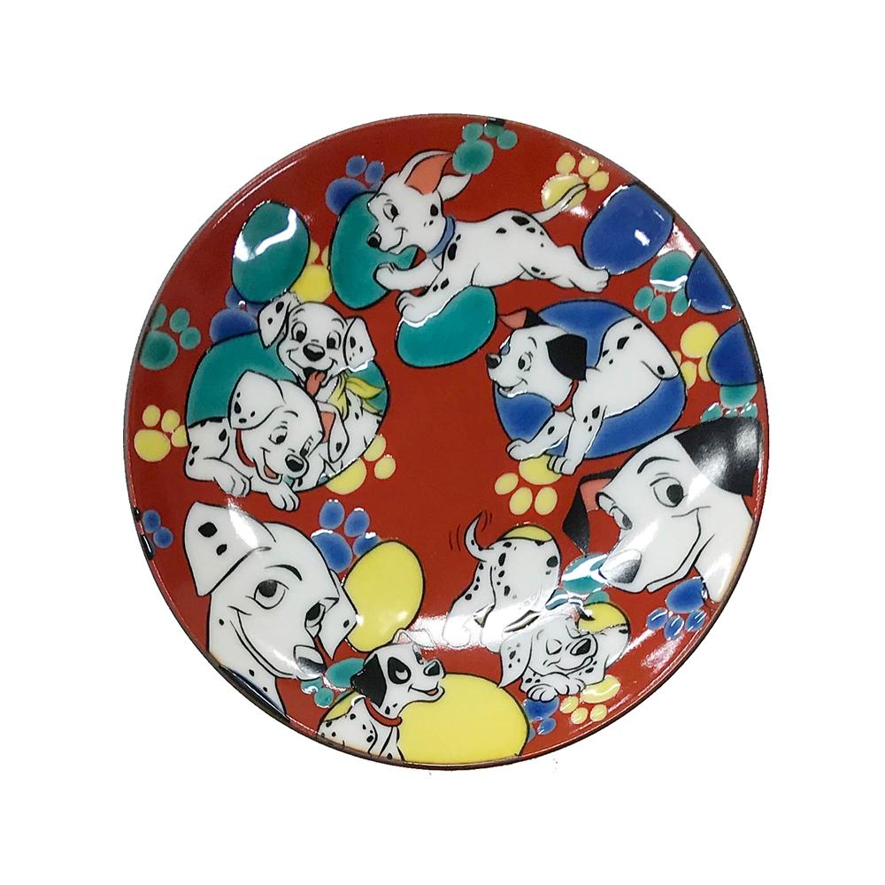 CLASSICS/101匹わんちゃん/九谷焼豆皿