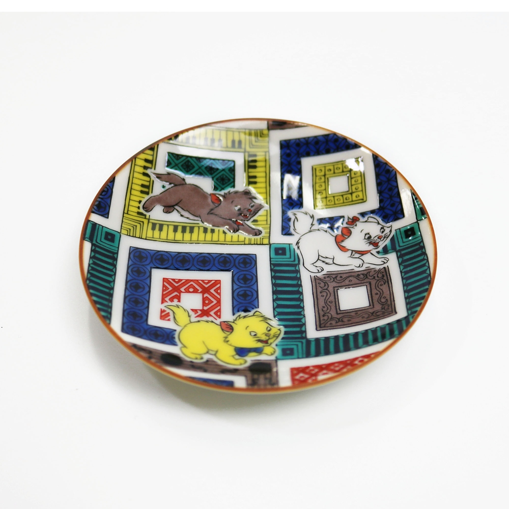CLASSICS/おしゃれキャット/九谷焼豆皿