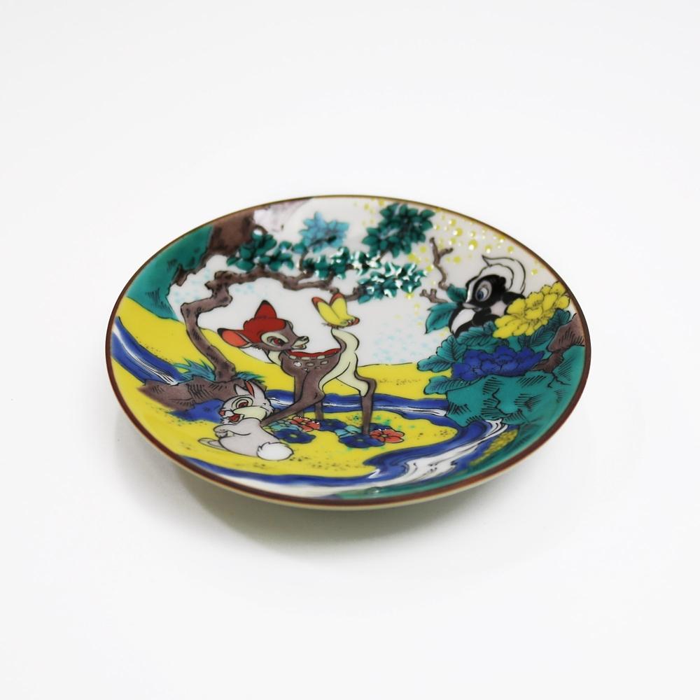 CLASSICS/バンビ/九谷焼豆皿