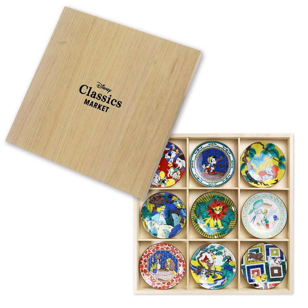 CLASSICS/ALL九谷焼豆皿セット