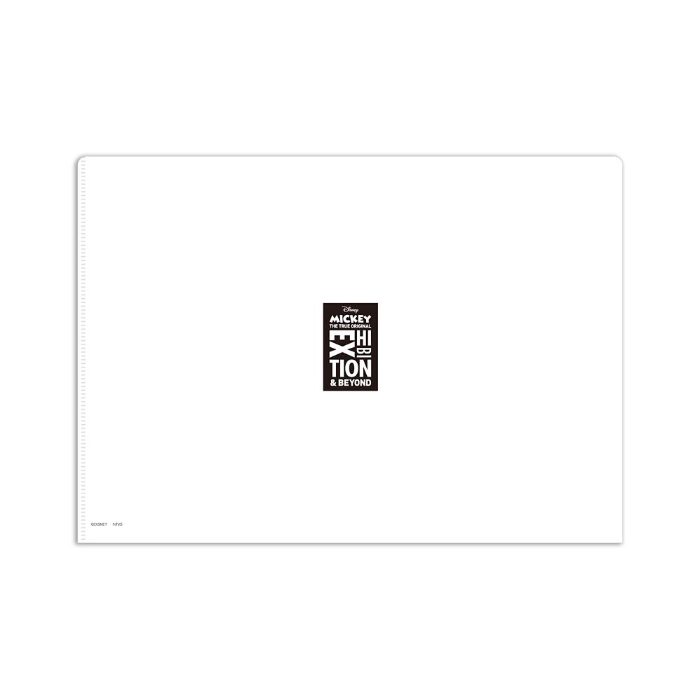 ミッキーマウス展/ファンタジア/MS/A4クリアファイル