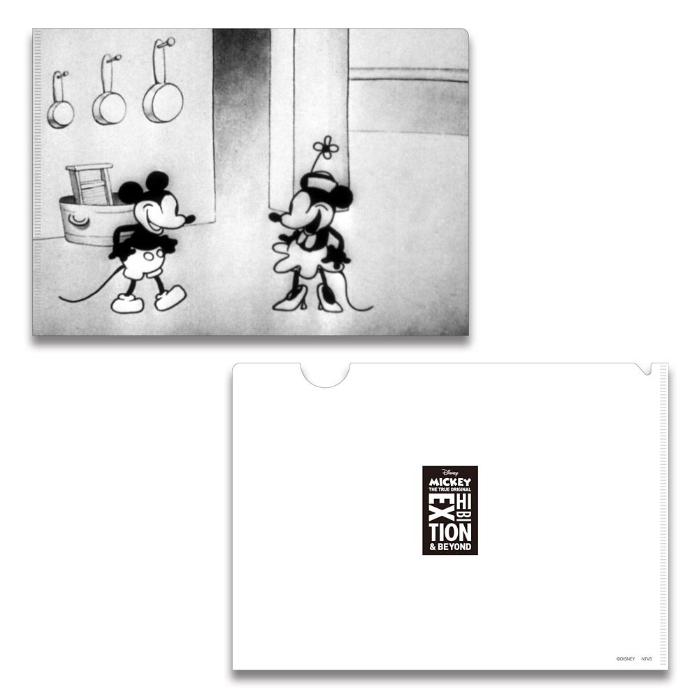ミッキーマウス展/蒸気船ウィリー/FF/A5クリアファイル3