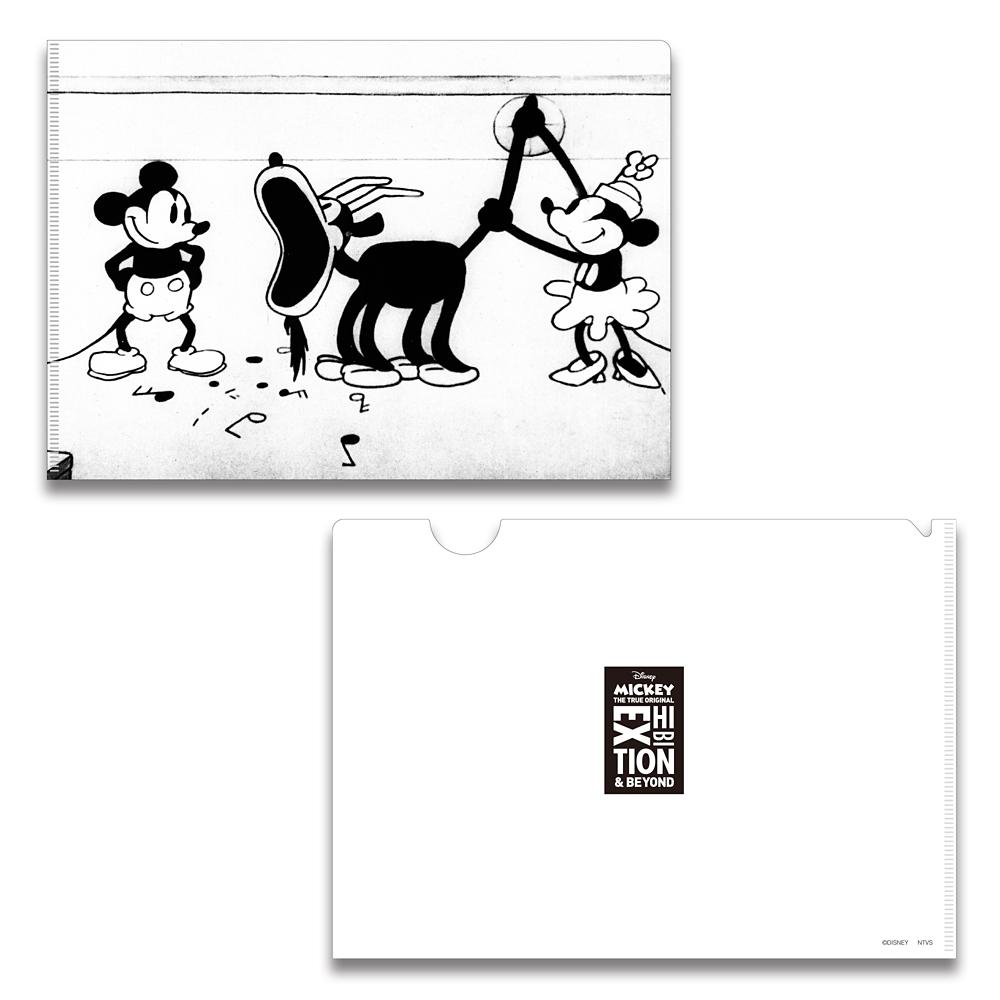 ミッキーマウス展/蒸気船ウィリー/FF/A5クリアファイル4