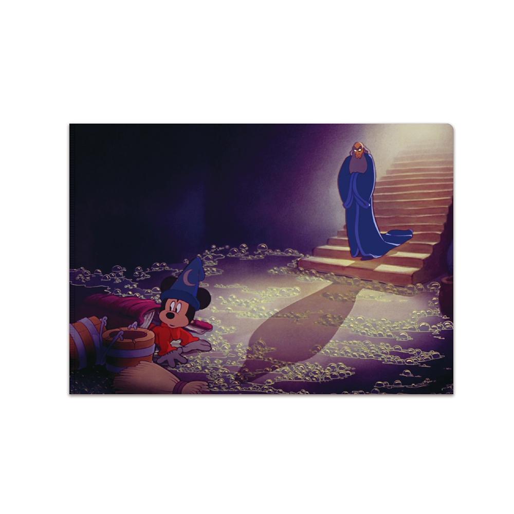 【送料無料】ミッキーマウス展/ファンタジア/FF/A5クリアファイル4