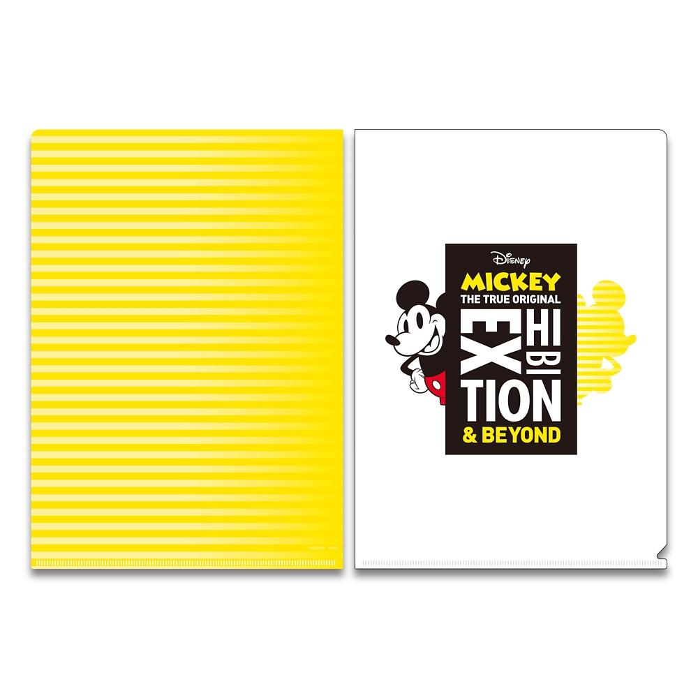 ミッキーマウス展/キービジュアル/A4クリアファイル