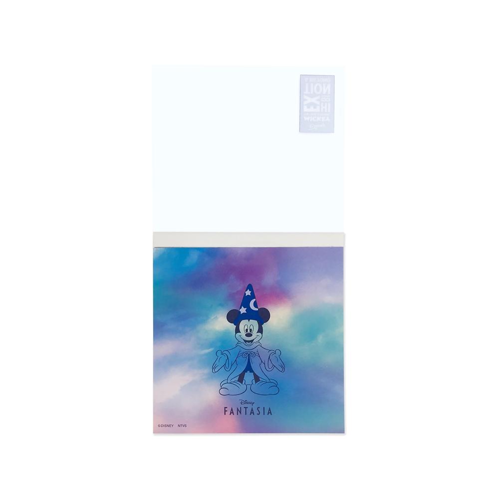 ミッキーマウス展/ファンタジア/MG/メモ帳