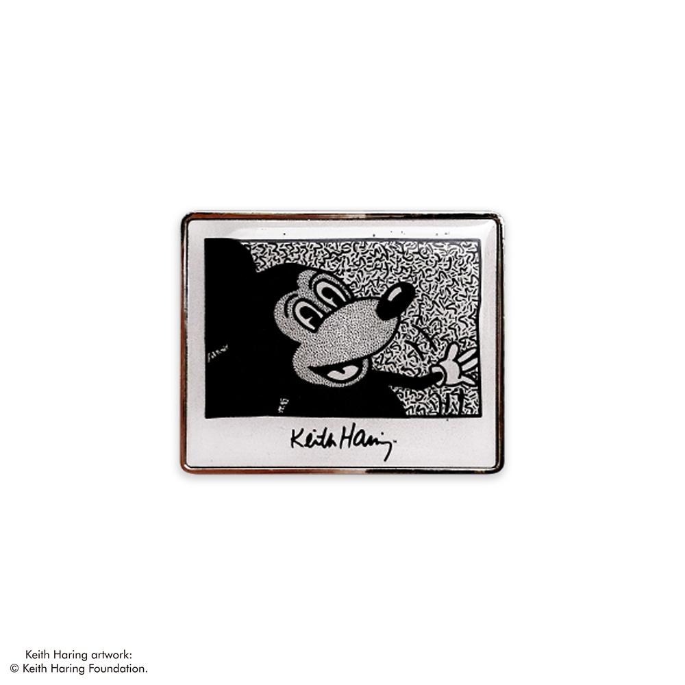 ミッキーマウス展/キース・へリング/ピンバッジ