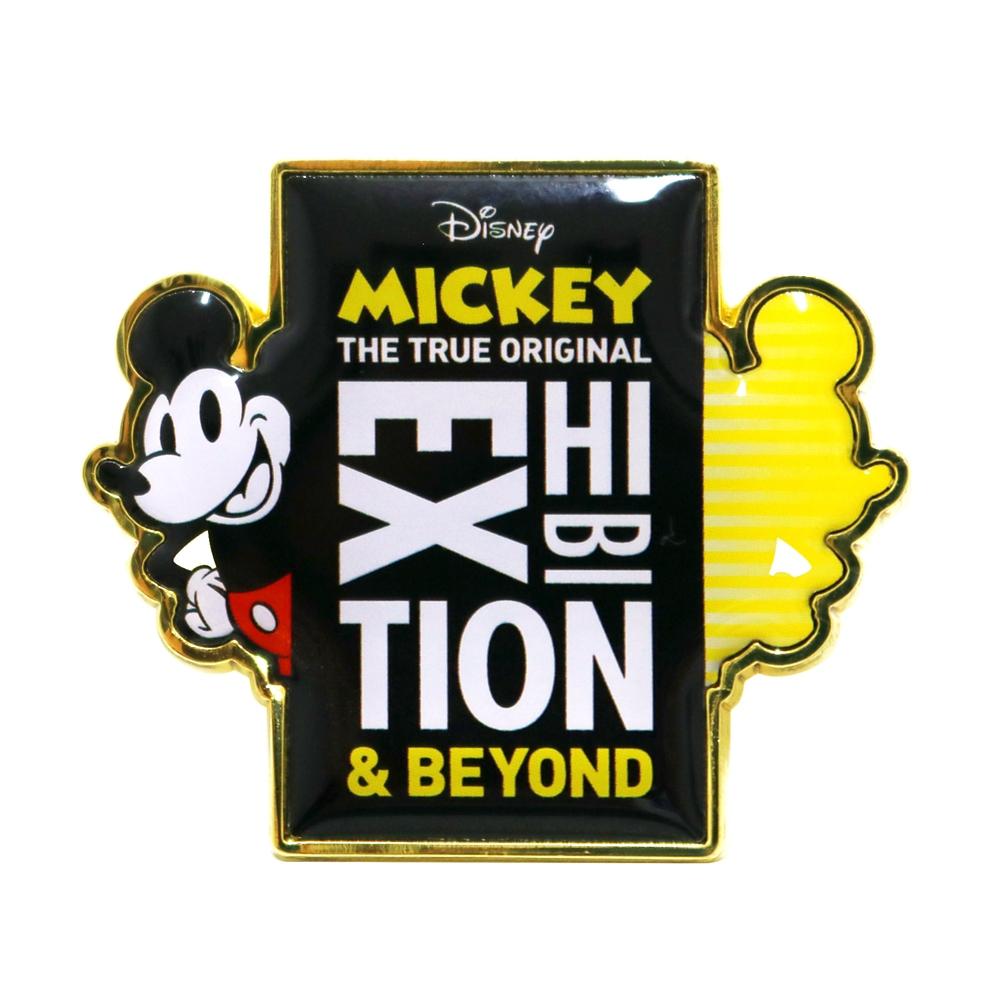 ミッキーマウス展/キービジュアル/ピンバッジ