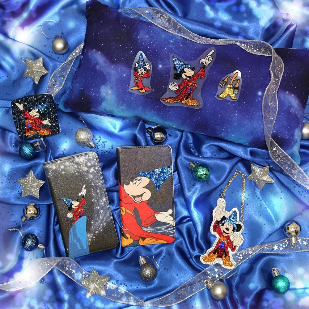ミッキーマウス展/ファンタジア/クリスタルステッカーS2