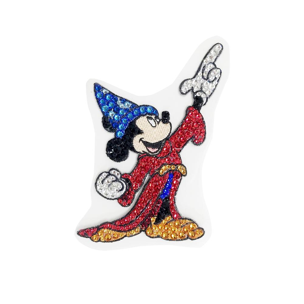 ミッキーマウス展/ファンタジア/クリスタルステッカーL