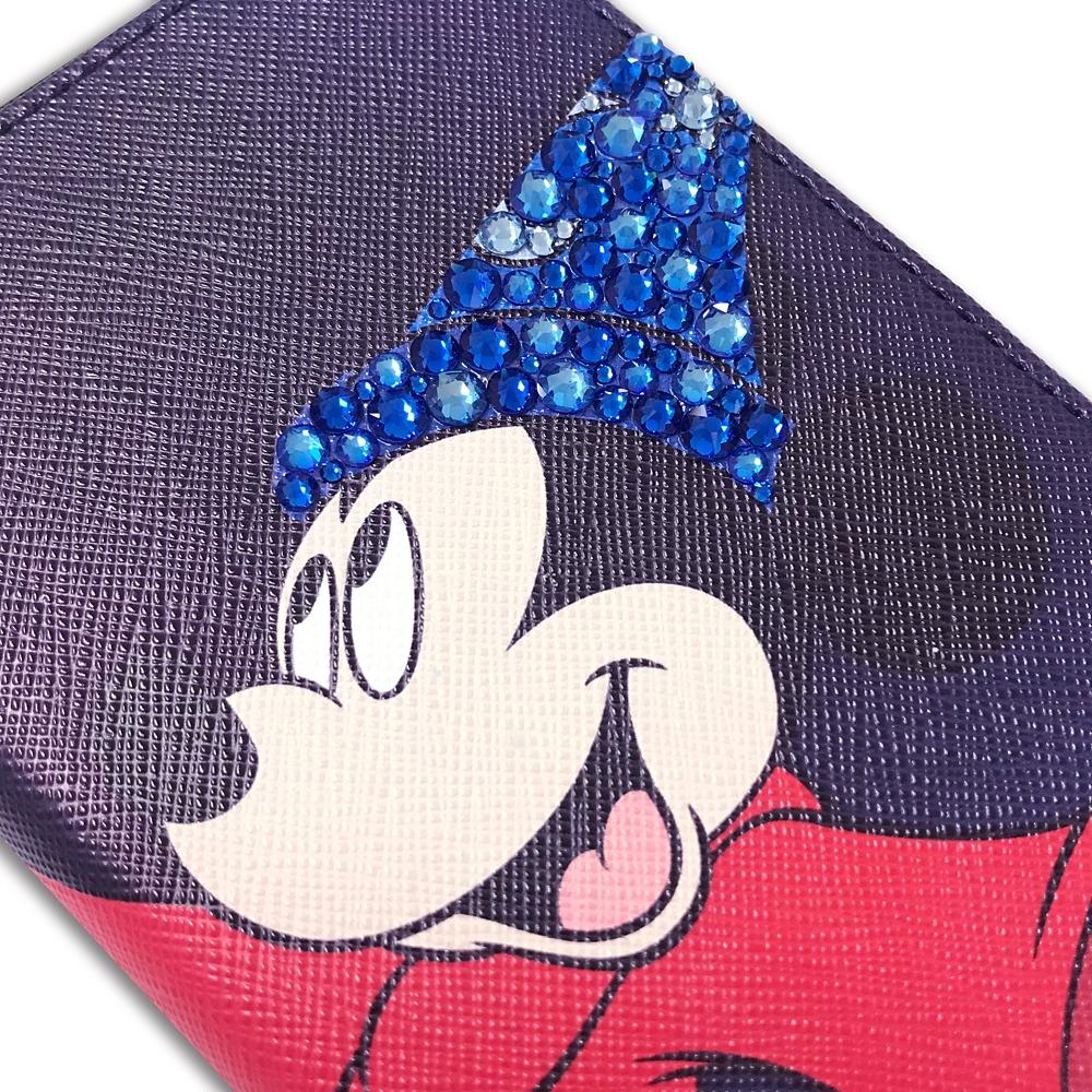 ミッキーマウス展/ファンタジア/クリスタルスマホケース2