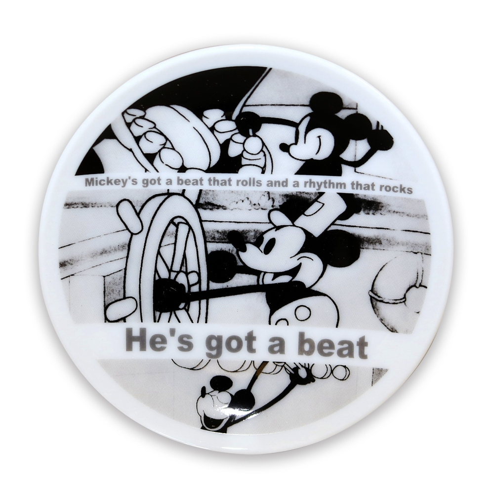 蒸気船ウィリー/FF/豆皿OW