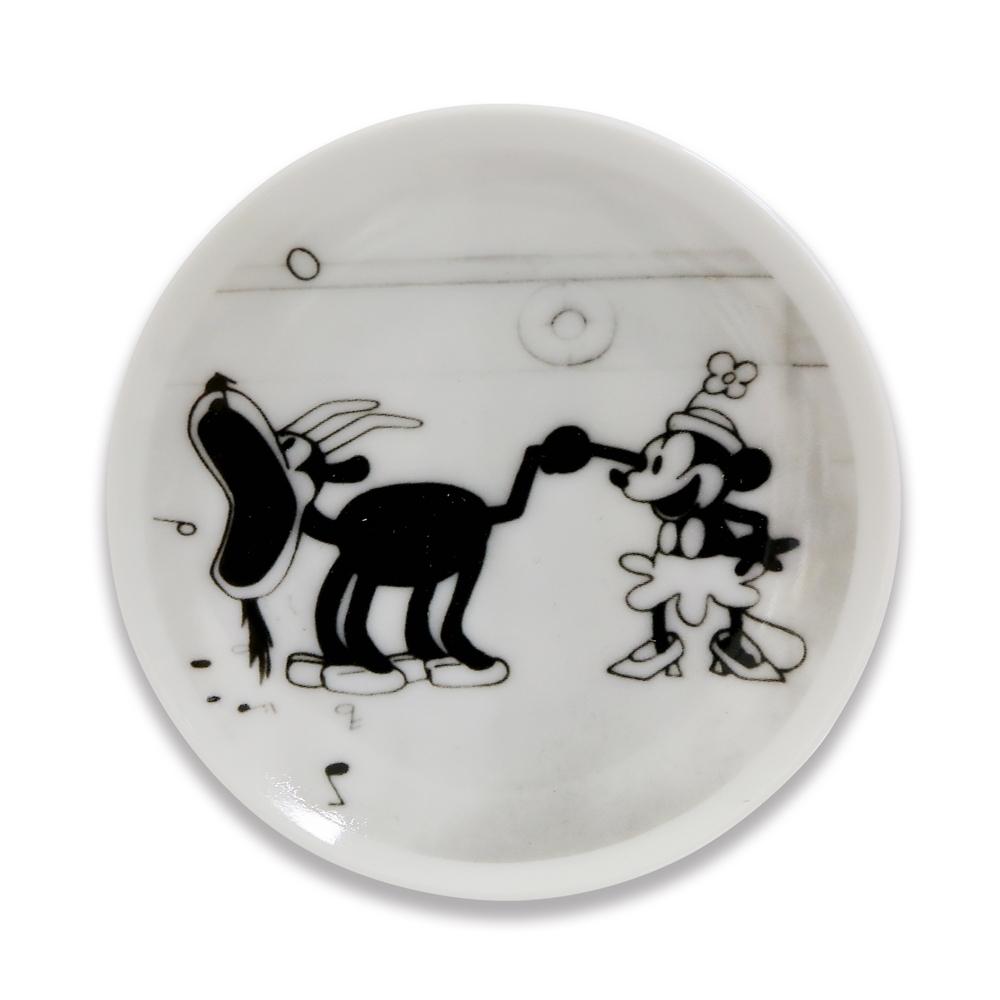 ミッキーマウス展/蒸気船ウィリー/FF/豆皿3