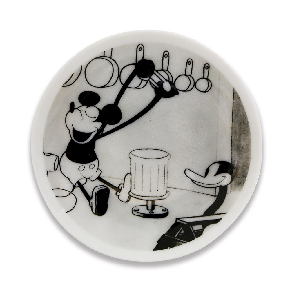 ミッキーマウス展/蒸気船ウィリー/FF/豆皿4