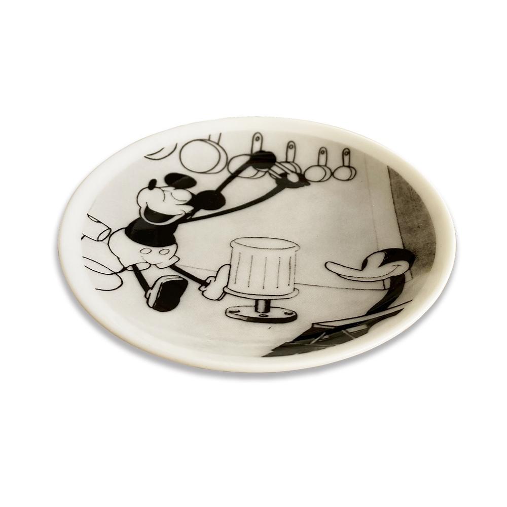 蒸気船ウィリー/FF/豆皿4