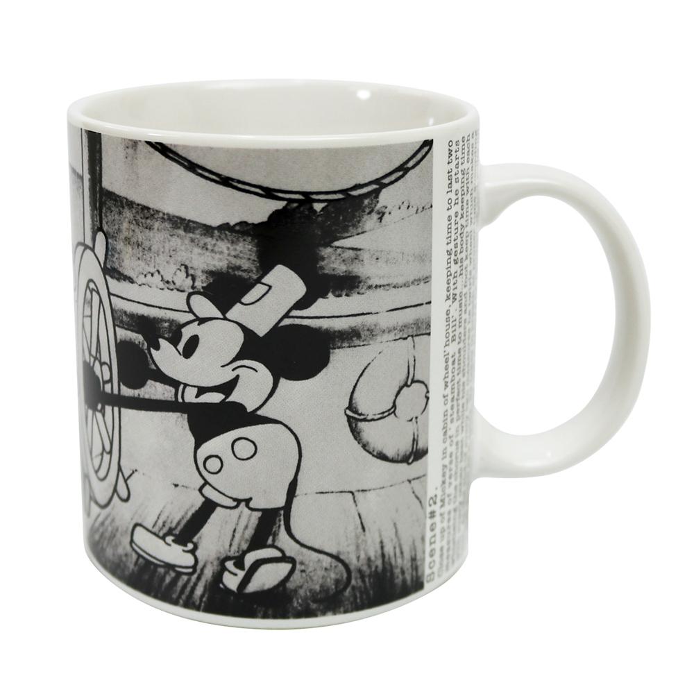 ミッキーマウス展/蒸気船ウィリー/FF/マグカップ