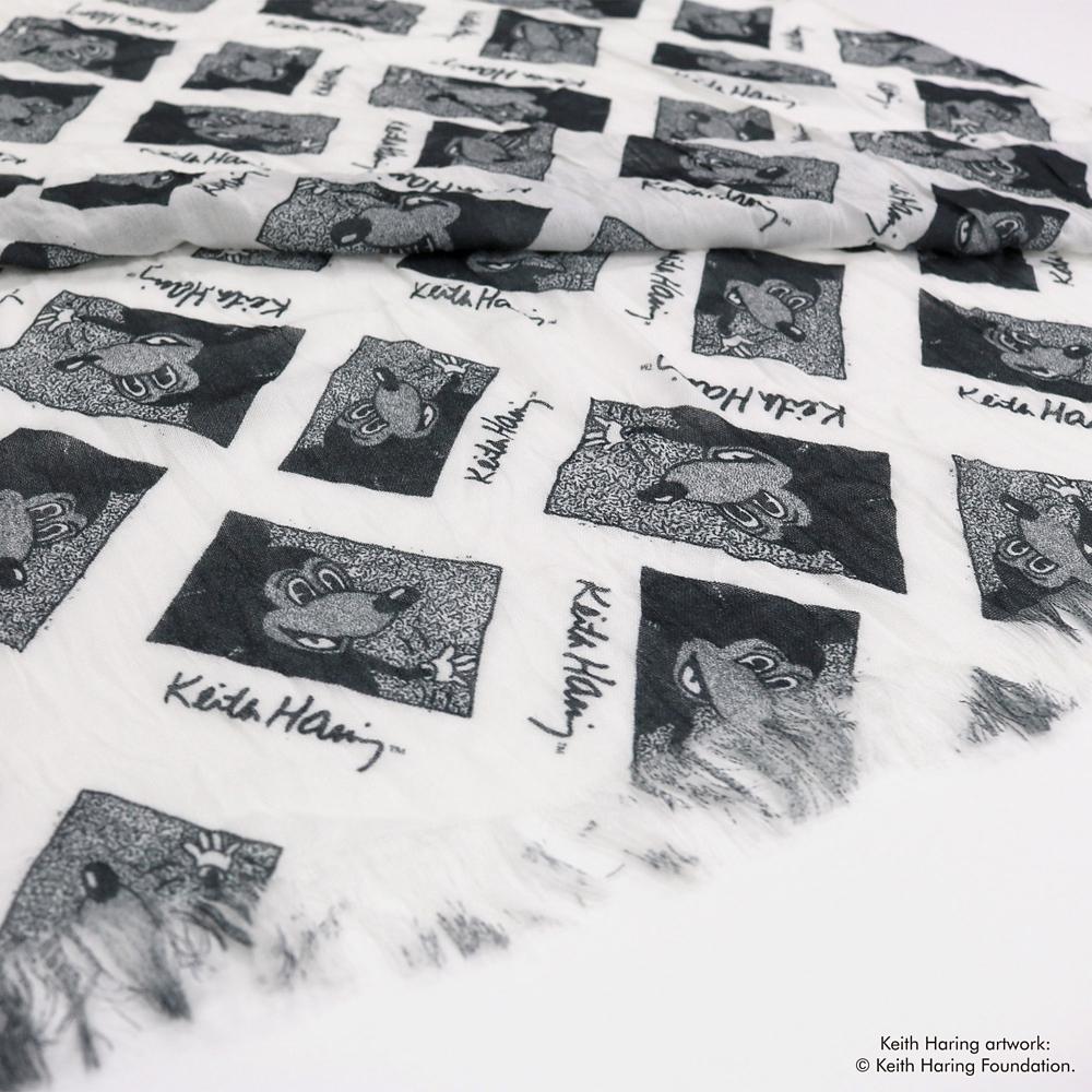 ミッキーマウス展/キース・へリング/ストール